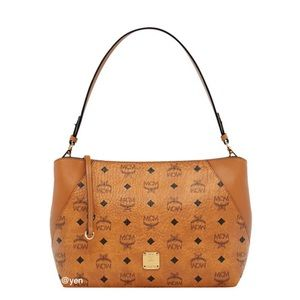 MCM Klara Medium Visetos Shoulder Bag